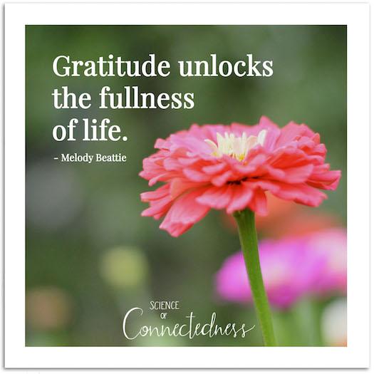 Gratitude (Spiritual Tool #4)